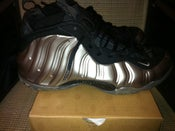 Image of Nike Foamposite One Metallic Pewter VNDS - Galaxy Fighter Jet Size 15 Basketball