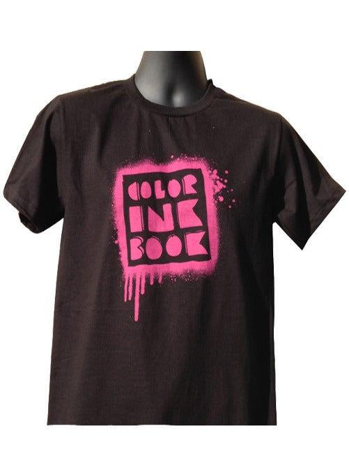Image of Color Ink Book Logo Tee