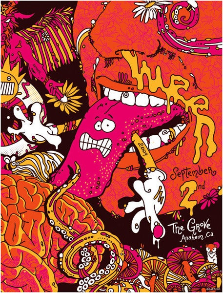 Image of Ween SoCal Tongue Poster 2009