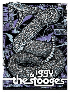 Image of Iggy Pop & Stooges Poster 2011