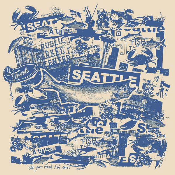 Image of Seattle City Print