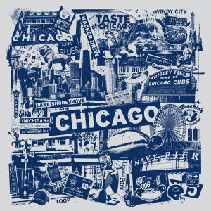 Image of Chicago City Print