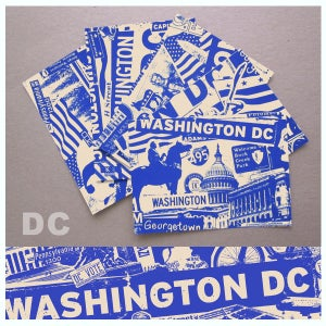 Image of 5 Pack Washington DC City Postcard Set