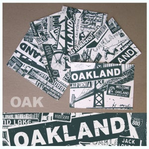 Image of 5 Pack Oakland California City Postcard Set