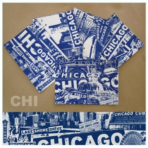 Image of 5 Pack Chicago City Postcard Set