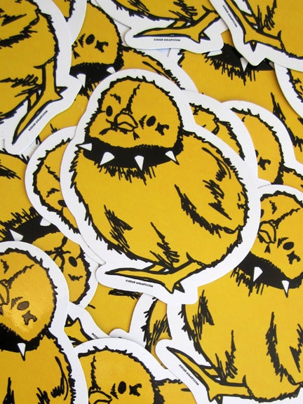 Image of Tough Chick Die Cut Vinyl Sticker
