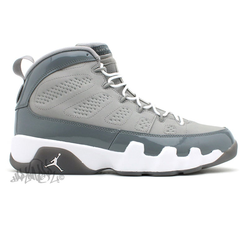 Image of AIR JORDAN 9 - COOL GREY - 303270 015