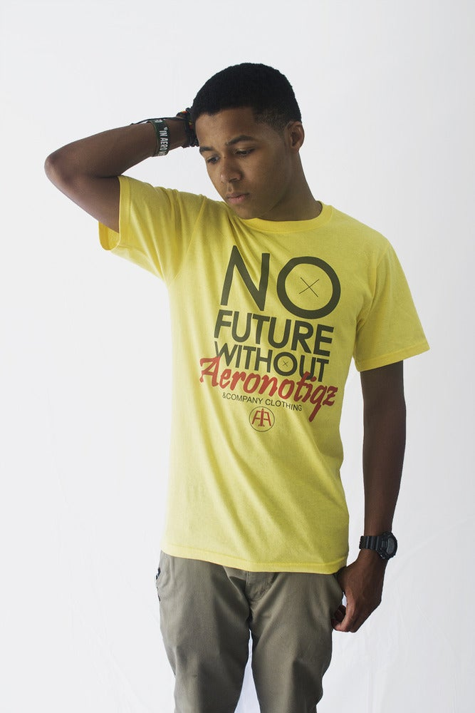 Image of Yellow NFW/OA Tee