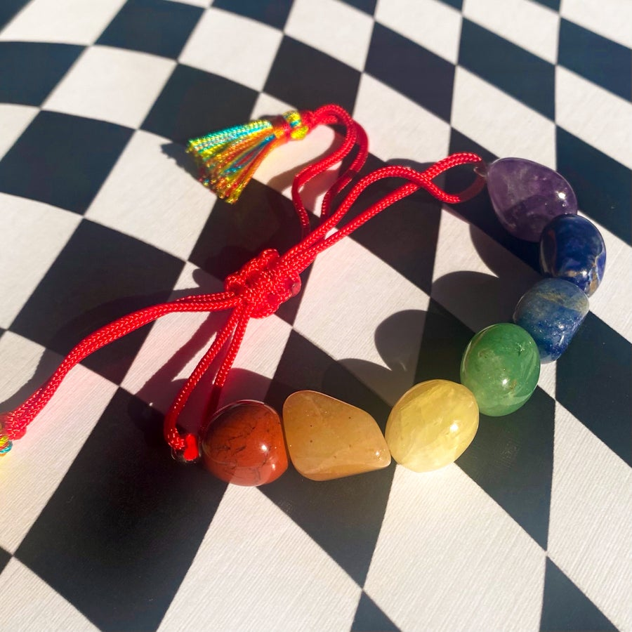Image of Crystal Chakra Bracelet
