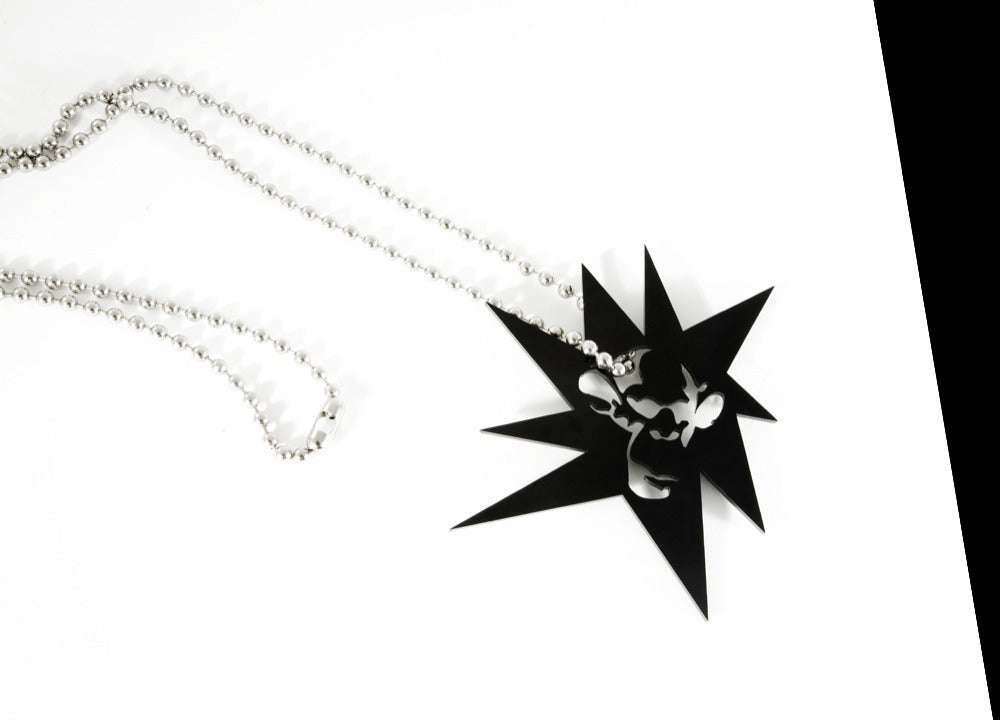 Image of Superstar Ball Chain Necklace (Super-Sized Pendant)
