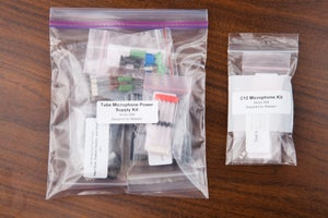 Image of C12 and ELA M251 Microphone Parts kits