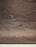 Marbled Paper Chocolate & Black - 1/2 sheets
