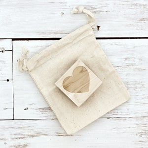 Image of HEART Wooden Stamp