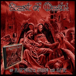 "Image of Scent Of Death ""Of Martyrs´s Agony and Hate"" Cd 2013"