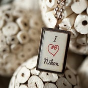 "Image of ""I Heart"" Necklace"