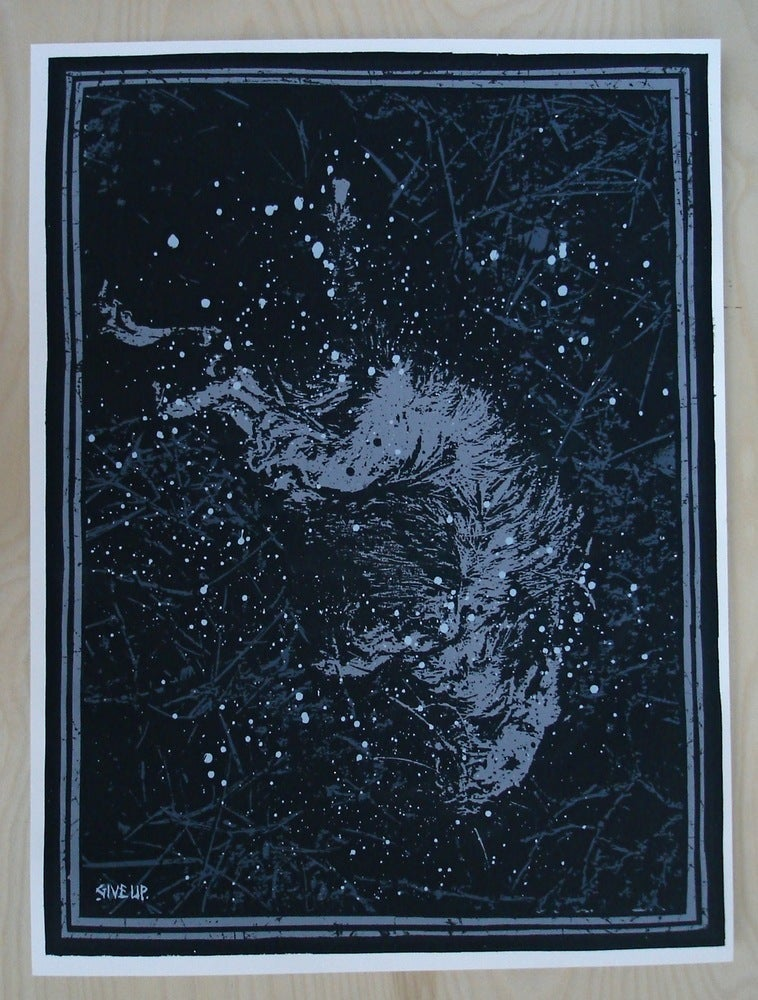 Image of 'tourist' print