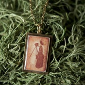 Image of Lady with Tripod Necklace
