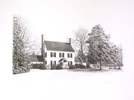 Image of Prints of Chatham Hall