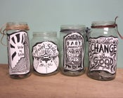 Image of Change Is Good Jar Stickers