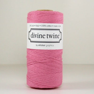 Image of Deep Pink Solid Divine Twine