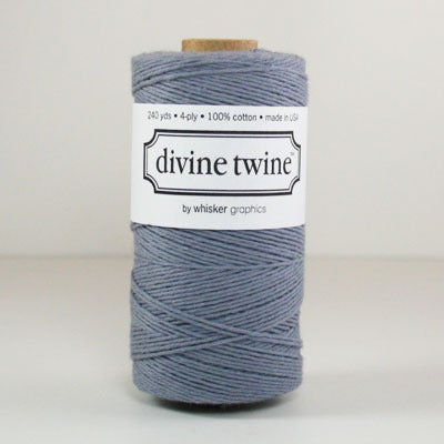 Image of Gray Solid Divine Twine