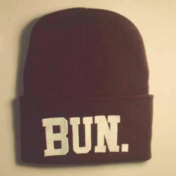 Image of Bun. beanie maroon