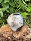 Pit Fired Bud vase 2