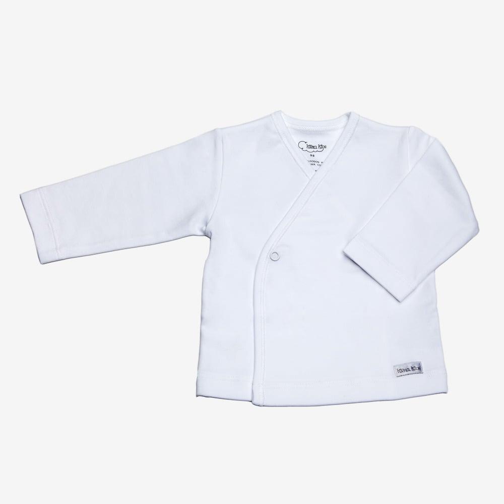 Image of Camiseta Cruzada en Color Blanco,Azul o Rosa