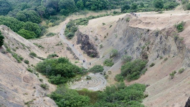 Image of Quarry Labyrinth, 2012