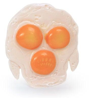 Image of FRIED EGGGON - Kaiju Fried Egg