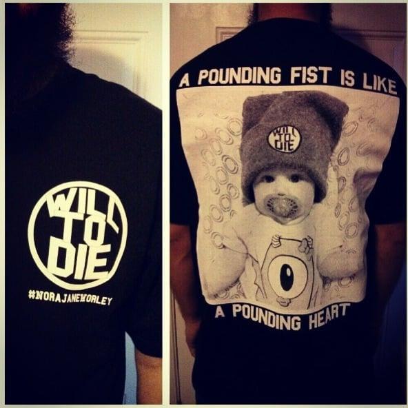 Image of Will2dieXNorajaneworly T-shirt