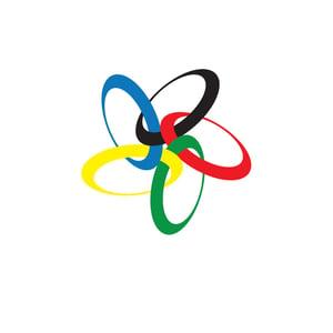 Image of Small World Olympics Print