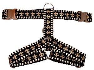 Image of Fleur de Lis Harness in the category  on Uncommon Paws.