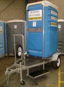 Image of Trailer mounted single toilet and trailer suite (price includes GST)