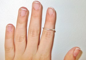 Image of Textured Above Knuckle Ring