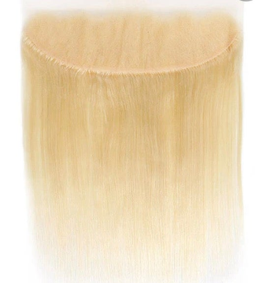 """Image of 20""""blonde frontal"""
