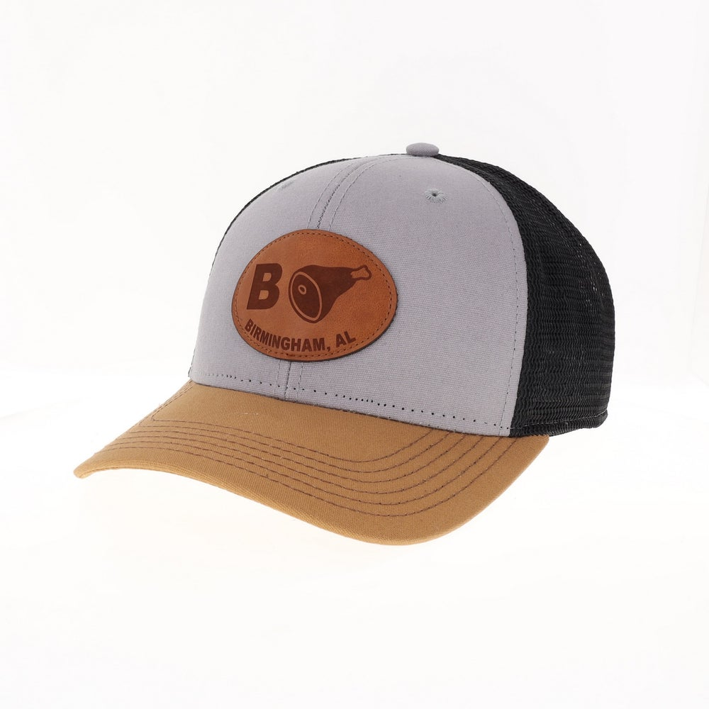 Image of Classic Trucker w/Leather
