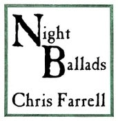 "Image of Chris Farrell - ""Night Ballads"" - Vinyl LP"