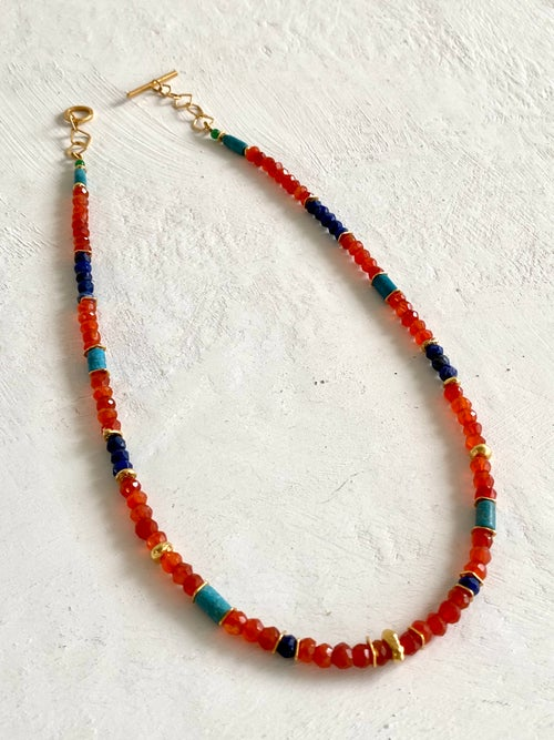Image of Indian Summer Beaded Necklace #5