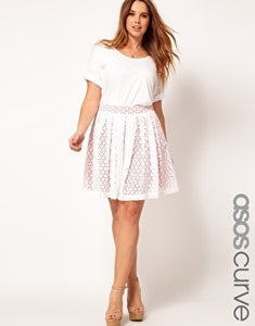 Image of Plus Size Asos Skirt Size: 20