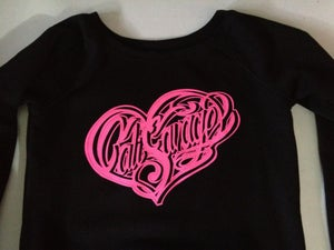 Image of CS Heart Wide Neck Sweater