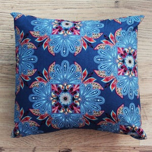 Image of Handmade Cushion - Floral Print