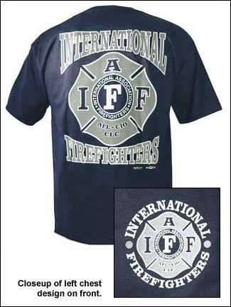 Image of IAFF Logo Shirt