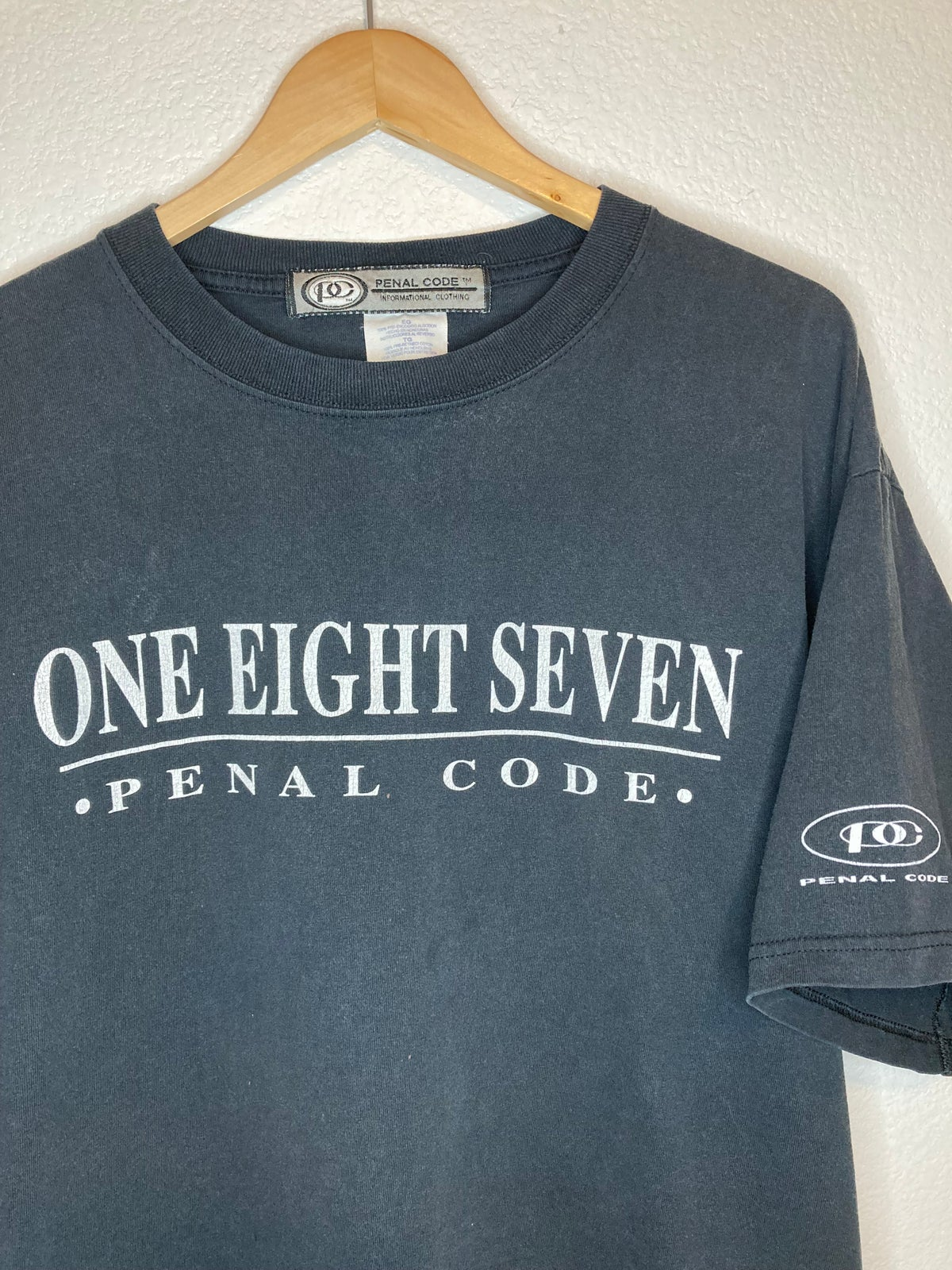 Early 2000's One Eight Seven  Penal Code Tee
