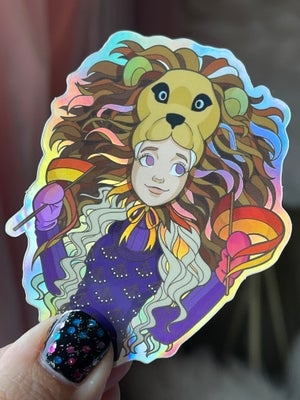 GryffinPride Loona Luvgood Holographic Sticker