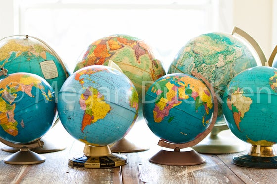 Image of Globes Print