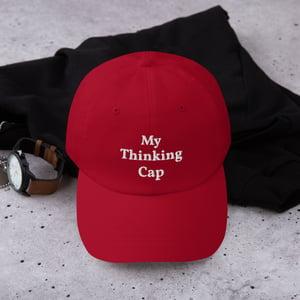 Image of My Thinking Cap Dad Hat