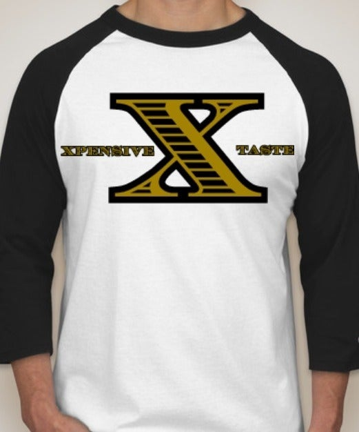 "Image of ""X"" Logo Baseball Tee"