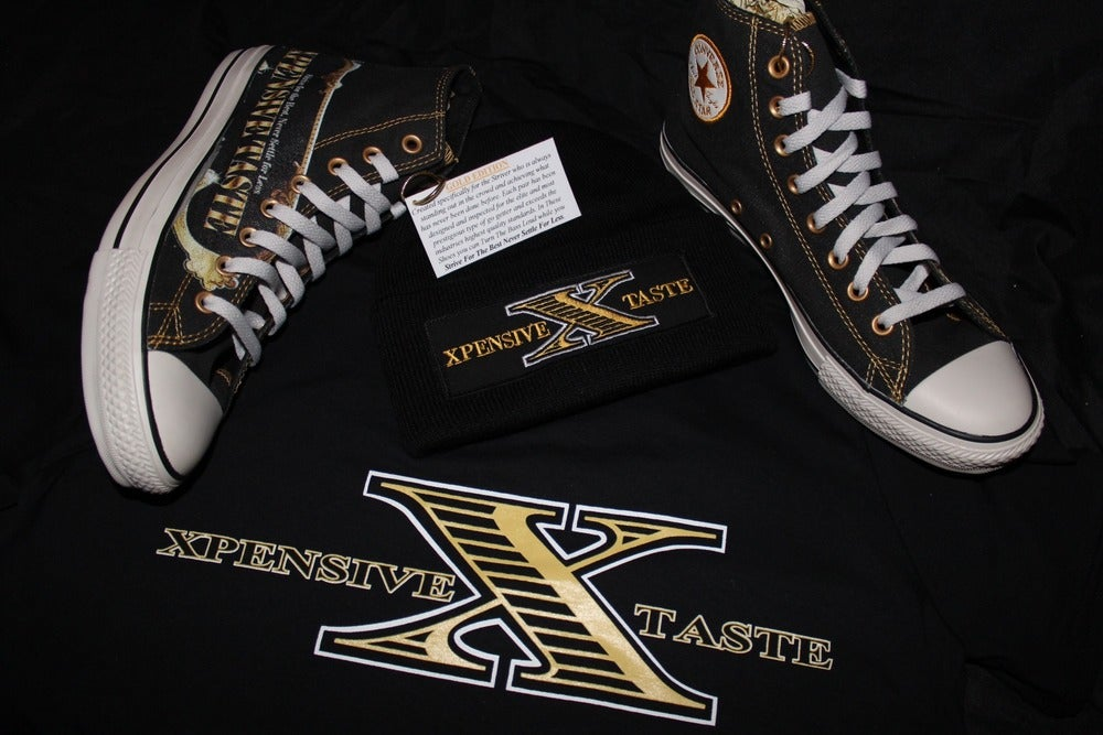 "Image of ""X"" logo T-Shirt"
