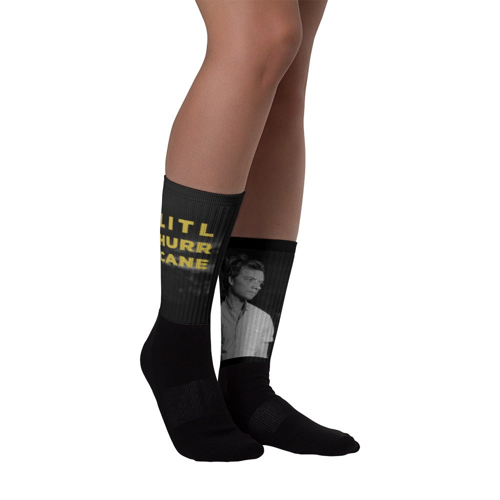 "Image of Little Hurricane ""Sandy Eggo"" Socks"